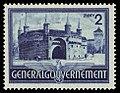 Generalgouvernement 1941 63 Barbakan, Torzwinger in Krakau.jpg
