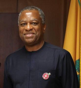 Geoffrey Onyeama - Onyeama in 2017