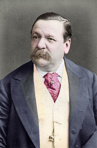 Neckwear - Image: George Augustus Sala 1828 1895