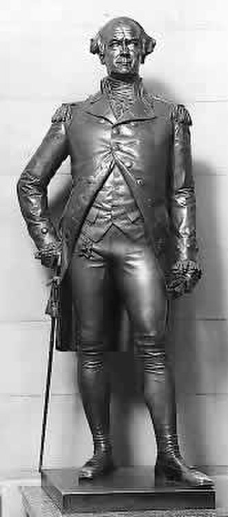George Clinton (Brown) - The sculpture in the National Statuary Hall Collection