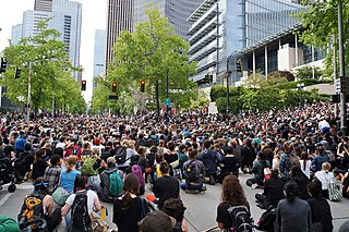 George Floyd protests in Seattle 2020 civil unrest in Seattle after the death of George Floyd