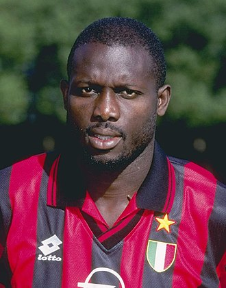 2005 Liberian general election - Image: George Weah Milan AC 1996 97 (cropped)