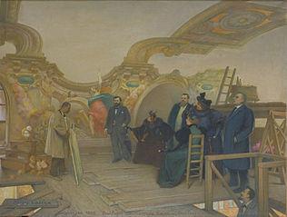 L'Atelier de Paul Pujol à la salle des Illustres