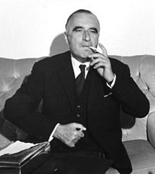 Georges Pompidou, en 1965.
