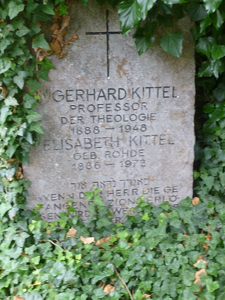 Datei:Gerhard Kittel Stadtfriedhof Tübingen.jpg – Wikipedia