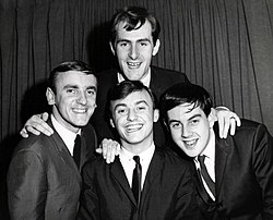 Gerry and the pacemakers group photo 1964