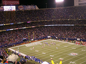 New York Giants - Giants Stadium was home to the Giants from 1976 to 2009.