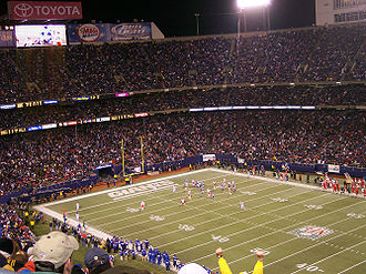 Giants Stadium - Giants Stadium during a December 17, 2005 game between the Giants and Kansas City Chiefs