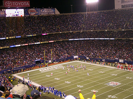 Giants Stadium was home to the Giants from 1976 to 2009. Giants Stadium.jpg
