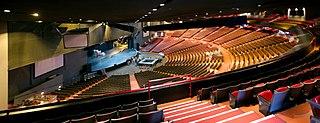 Universal Amphitheatre concert venue located in Los Angeles, California, United States of America