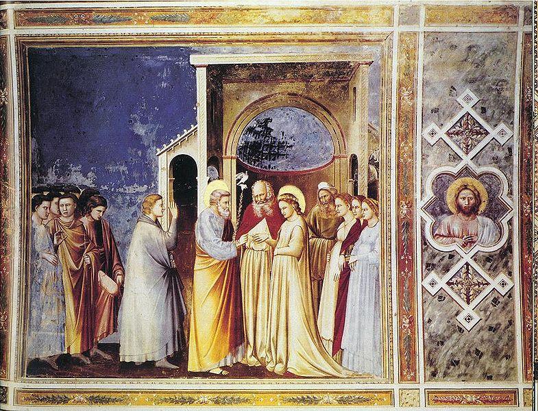 File:Giotto - Scrovegni - -11- - Marriage of the Virgin.jpg