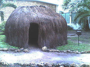 Giriama people - Image: Giriama Hut