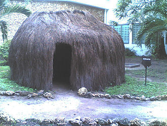 Mijikenda peoples - Replica of a Giriama hut
