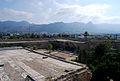 Girne Festung Blick Ri Süden ins Gebirge.jpg