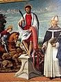 Girolamo da santacroce, s. bartolomeo tra i ss. giorgio e antonino, 1550-80 ca. 04.JPG