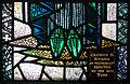 Glenbeigh St. James' Church Transept Window Saint Patrick Detail Shoes 2012 09 09.jpg