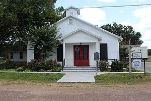 Glidden, Texas - Glidden Baptist Church in Glidden, Texas