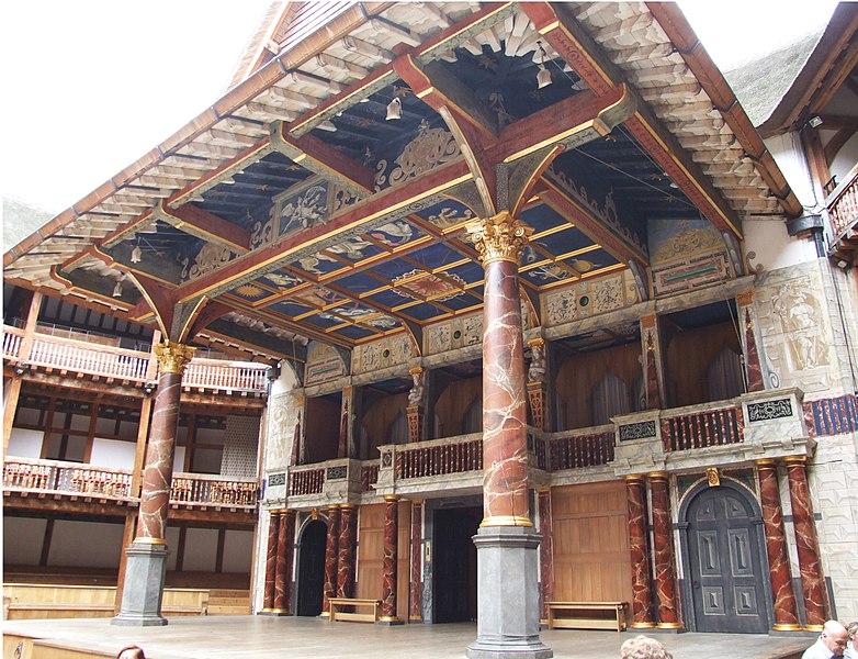 File:Globe Theatre Buehne.jpg