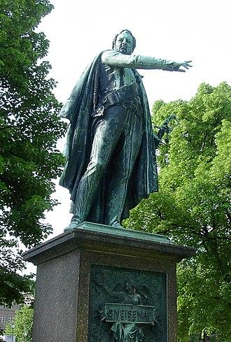 August Neidhardt von Gneisenau - Statue of Gneisenau, Unter den Linden, Berlin by Christian Daniel Rauch