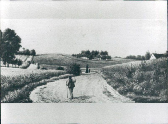 Godthåbsvej - Godthåbsvej at present-day Grøndals Allé, 1890