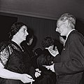 Golda Meir during a conversation at diplomats dinner party.jpg