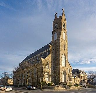 St. Patrick's Church (Fall River, Massachusetts) - Image: Good Shepherd Parish (St Patrick's Church) Fall River, Massachusetts