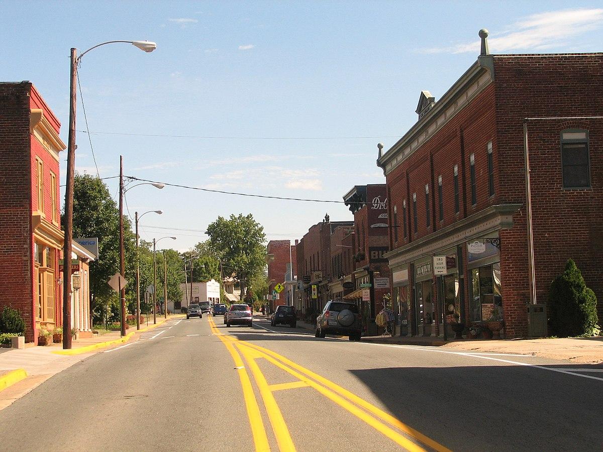 Gordonsville Virginia Wikipedia Calhoun Maps Wirt West Appalachian Region
