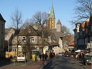 History of Goslar - Town centre