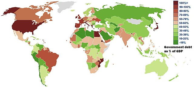 """Government debt gdp"" by Jirka.h23 - Own work. Licensed under Creative Commons Attribution-Share Alike 3.0 via Wikimedia Commons - https://commons.wikimedia.org/wiki/File:Government_debt_gdp.jpg#mediaviewer/File:Government_debt_gdp.jpg"