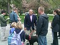 Governor Patrick, Milton Walk-Bike to School Day, May 4, 2011 (5686640551).jpg