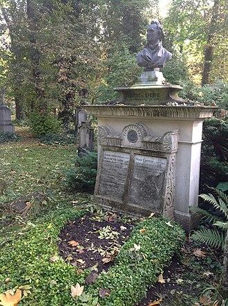 Justus von Liebig - Justus von Liebig grave, Munich, Germany