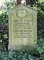 Grabstätte Bergstr 38 (Stegl) Arnold Wever.jpg