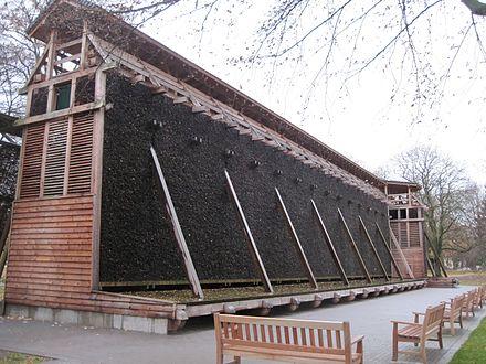 Das Gradierwerk Bad Hamm Befindet Sich Im Westlichen Teil Des Kurparks  Unweit Von Kurhaus Und Der