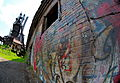 Graffiti at Carrie Furnaces, Rankin PA (8907673243).jpg
