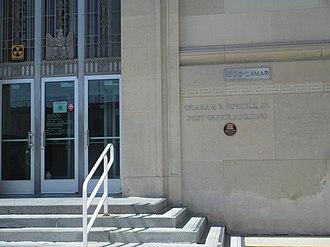 Graham B. Purcell Jr. - The Graham B. Purcell Jr. Post Office on Lamar Street in Wichita Falls, Texas