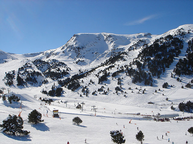 Grandvalira ski resort is in Andorra's Canillo and Encamp valleys. Photo by Christof Damian.