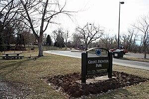 Grant-Frontier Park - Grant-Frontier Park in Denver, Colorado.