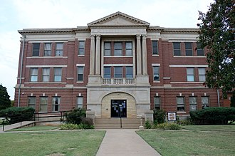 Grant County Courthouse (Oklahoma) - Image: Grant County, OK County Courthouse