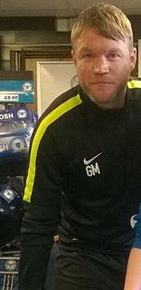 Grant McCann Northern Irish football player and manager