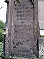 Grave Stone in Ford, Shropshire - geograph.org.uk - 344574.jpg