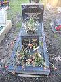 Grave of Norman Cyril Jackson in Twickenham Cemetery.JPG