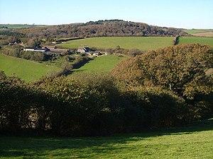 Orcheton, Modbury - Great Orcheton Farm, viewed in 2006