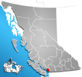 Greater Vancouver Regional District, British Columbia Location.png