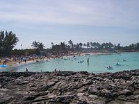 Beach at Great Stirrup Cay