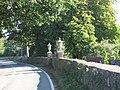 Grecian Urn finials on gateposts at Bryn Tanat - geograph.org.uk - 568083.jpg