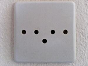 English: Greek Old Earthed Standard Socket Deu...