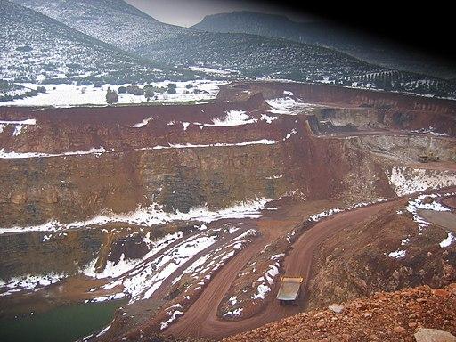 Greek nickel deposits in Magoula viotias