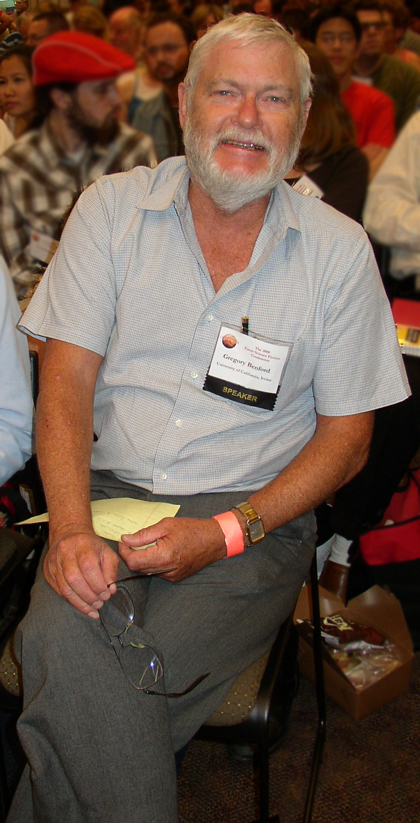 Greg Benford Eaton 2008-05-17