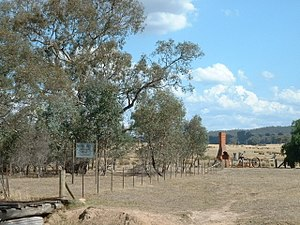 Greta, Victoria - The ruin of Ned Kelly's home at Greta