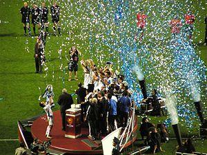 National championship trophy presentation 2016 oscars